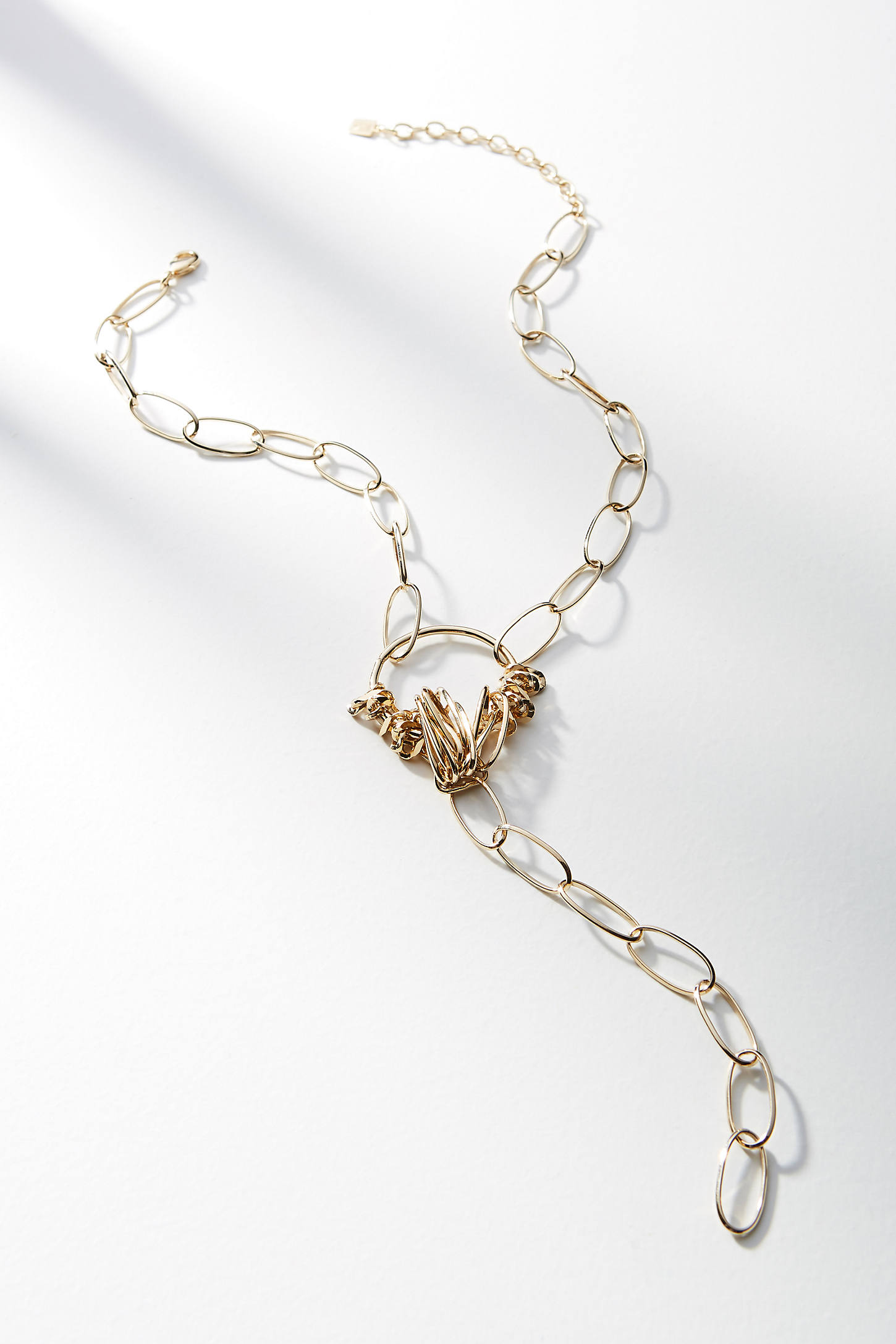 Gevin Lariat Necklace