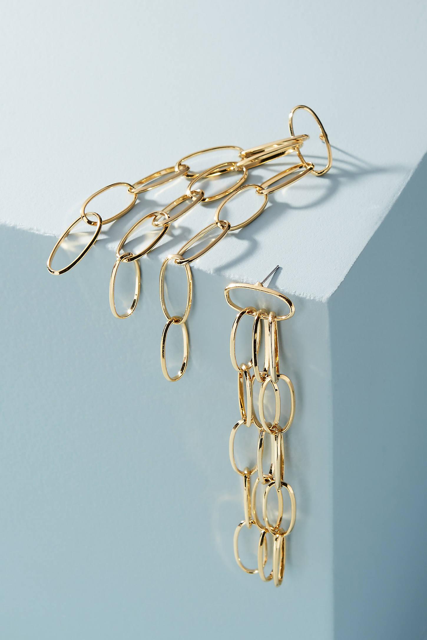 Kev Link Drop Earrings