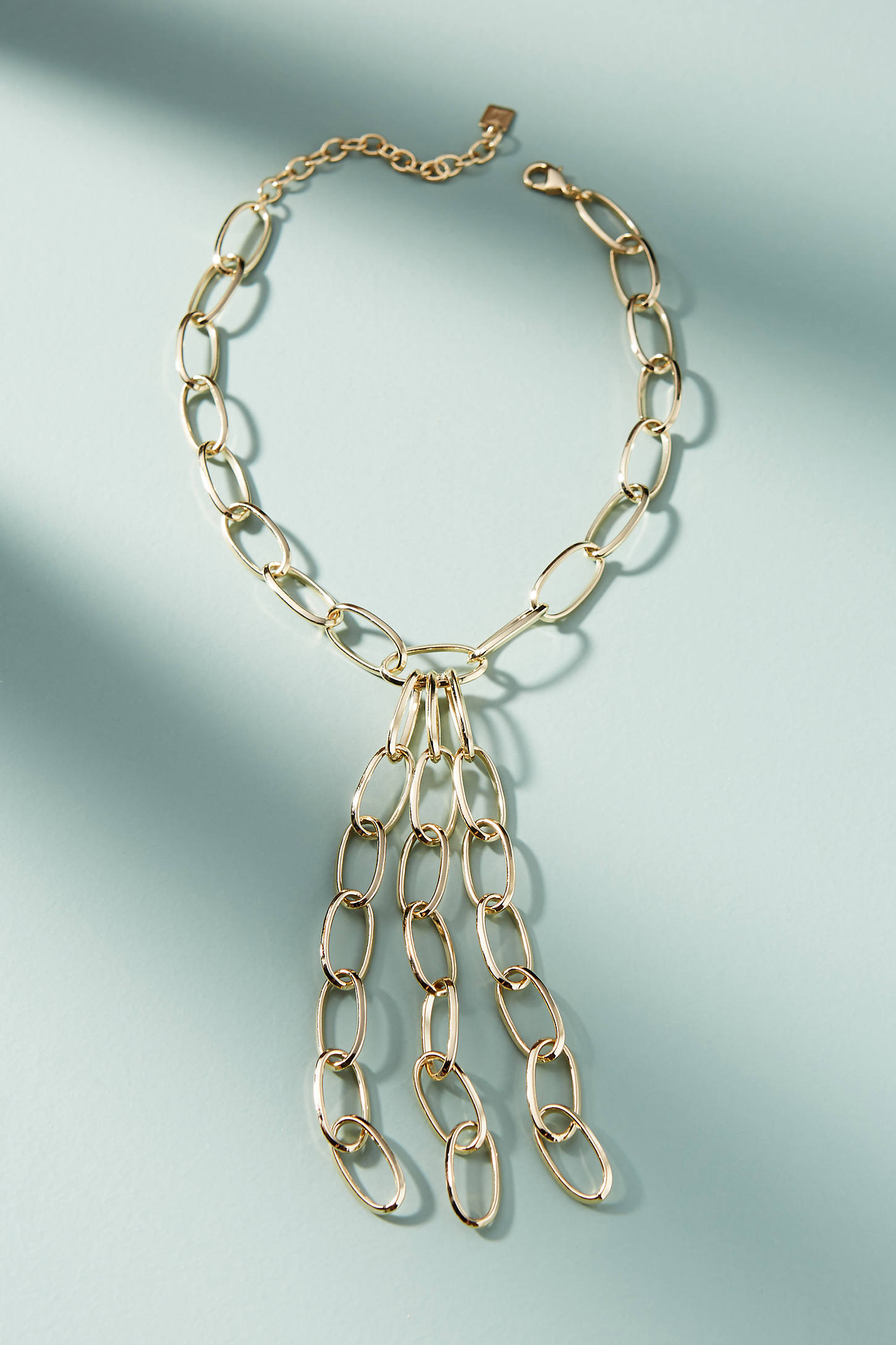 Lyslie Linked Lariat Necklace