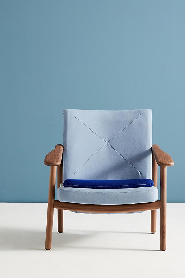 BOSC Paleta Armchair - Blue