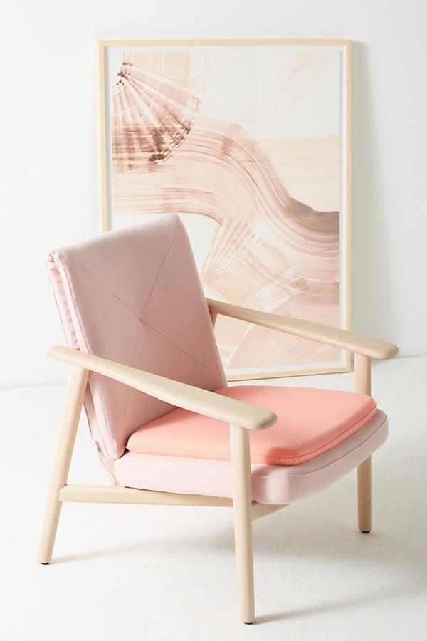 BOSC Paleta Armchair - Pink