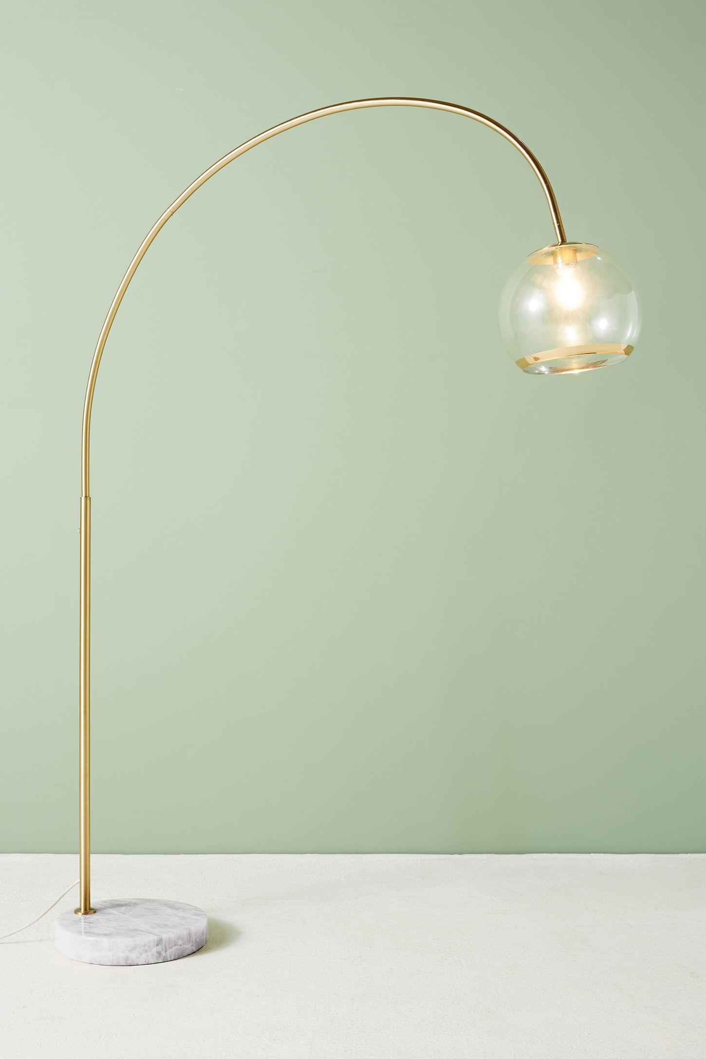 Design Unique Floor Lamps unique floor lamps more than 500 anthropologie arched glass lamp