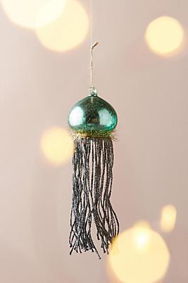 Tinseled Jellyfish Ornament