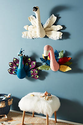 Slide View: 2: Birds Of A Feather Wall Decor