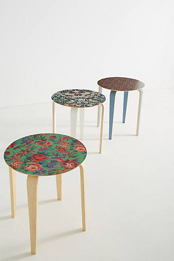 Slide View: 1: Liberty for Anthropologie Tamsin Side Table