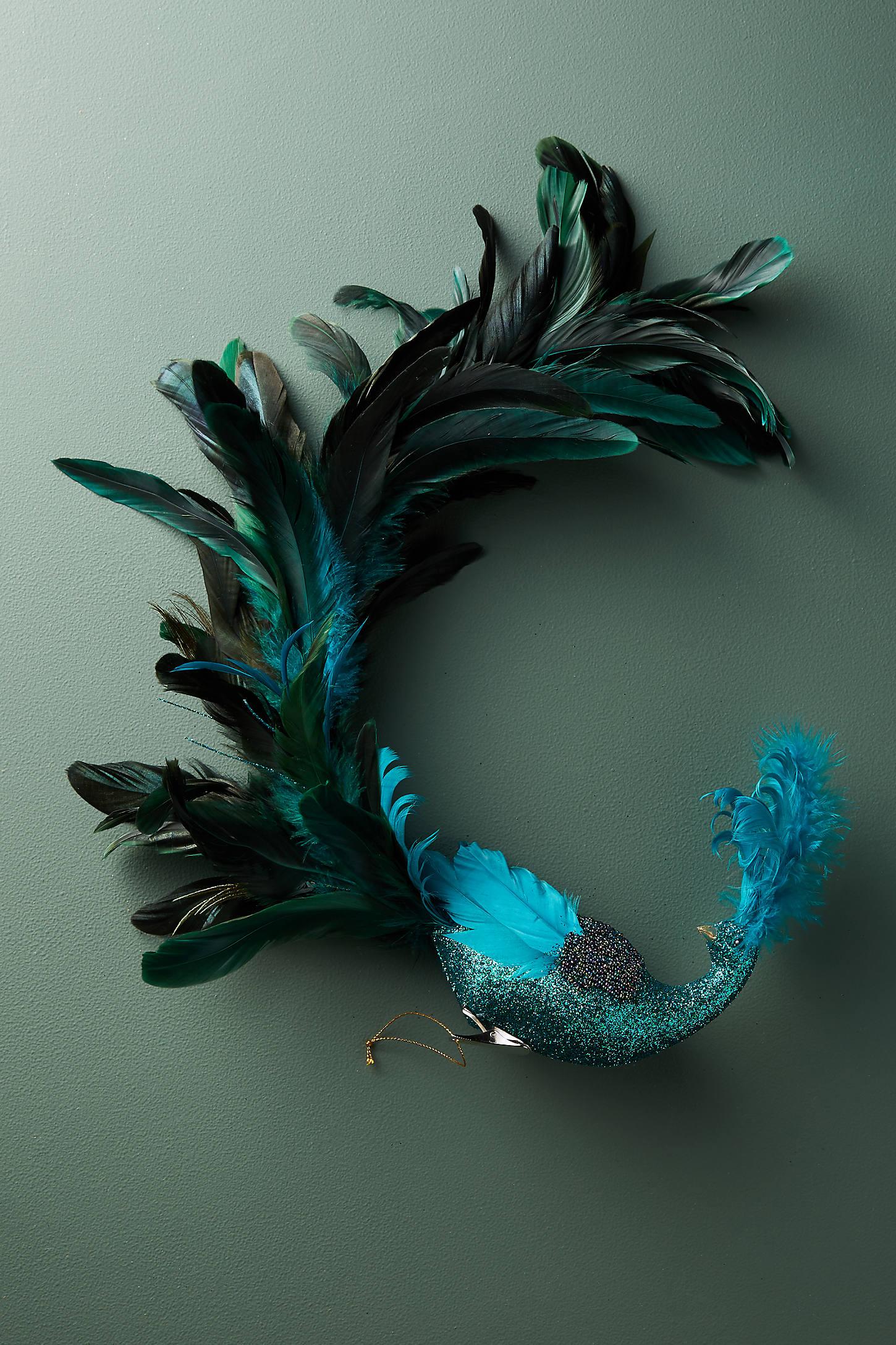 Prodigious Peacock Ornament