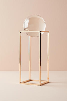 Slide View: 1: Suspended Orb Decorative Object