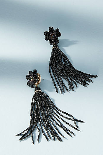 Hellebore Tassel Earrings