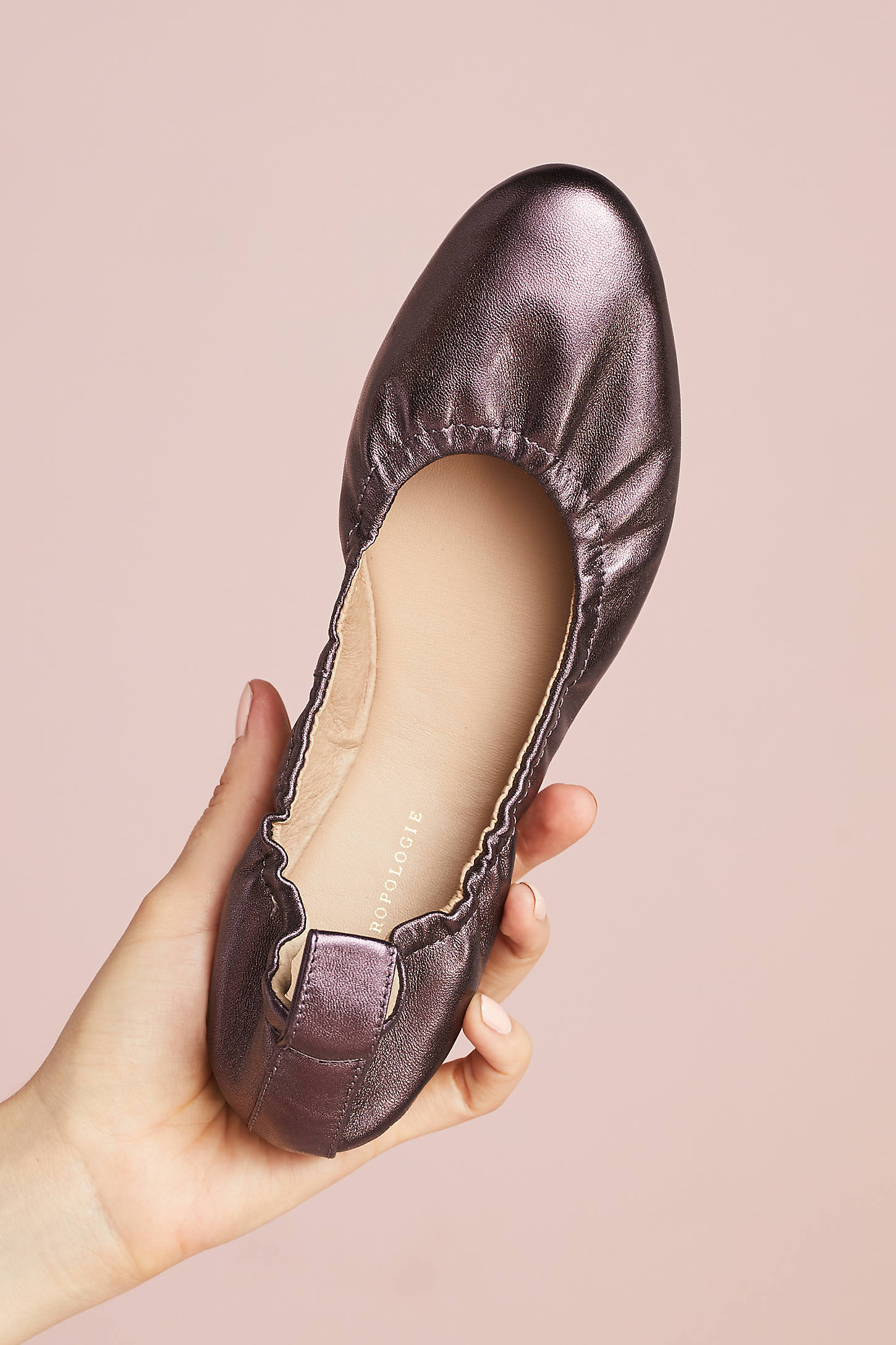 Anthropologie Mulberry Ballet Flats