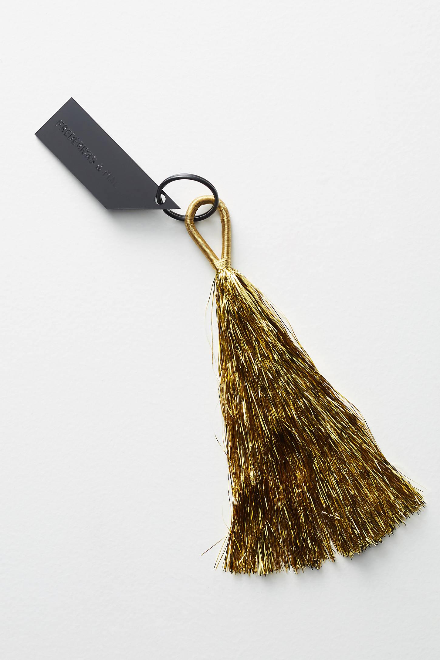 Tinsel Tassel Keychain