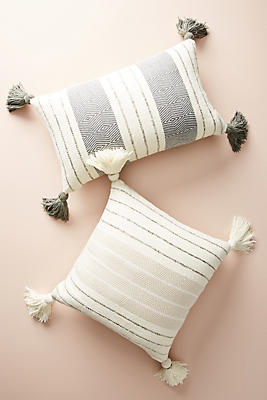 Slide View: 2: Caroline Tasseled Pillow