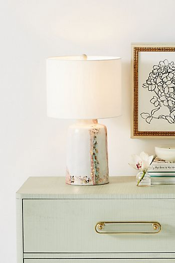 Unique Table Lamps Anthropologie - One touch lamps bedroom