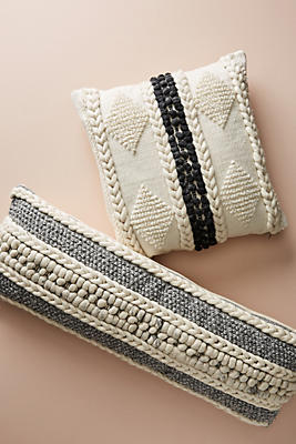 Slide View: 4: Braided Bauble Pillow