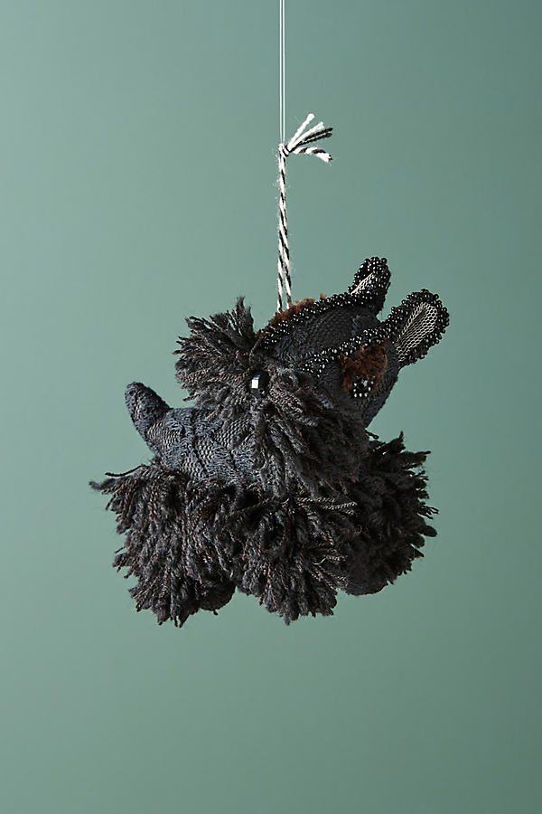 Doggo Ornament - Black