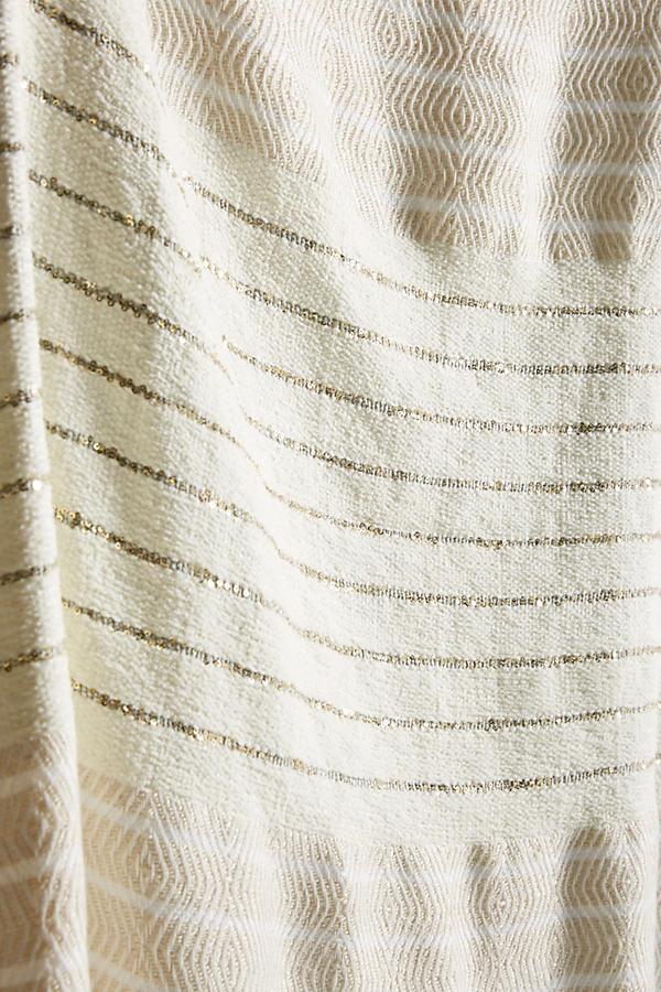 Slide View: 2: Caroline Tasseled Throw Blanket