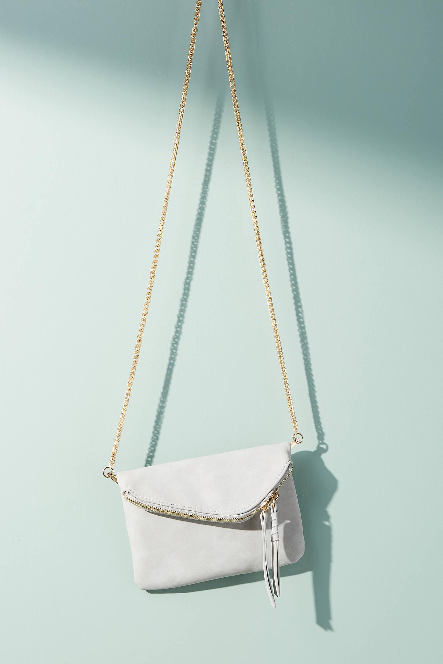 Zippered Mini Envelope Clutch