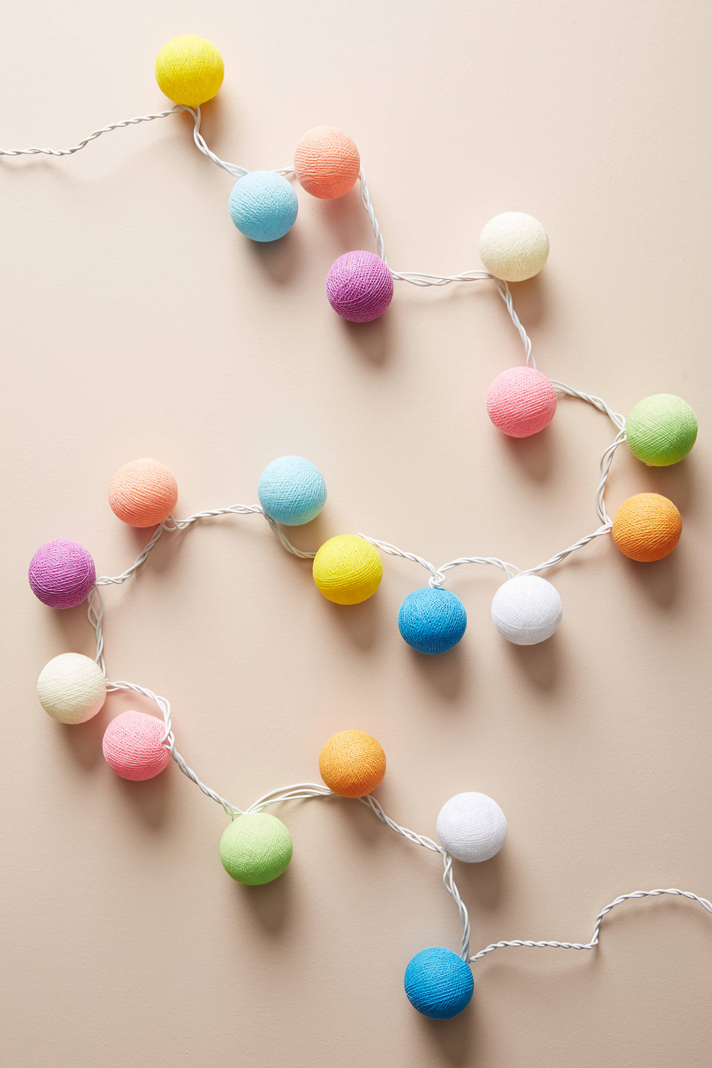 Multicolored String Lights