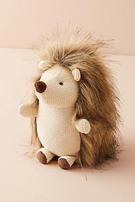 Slide View: 1: Plush Hedgehog
