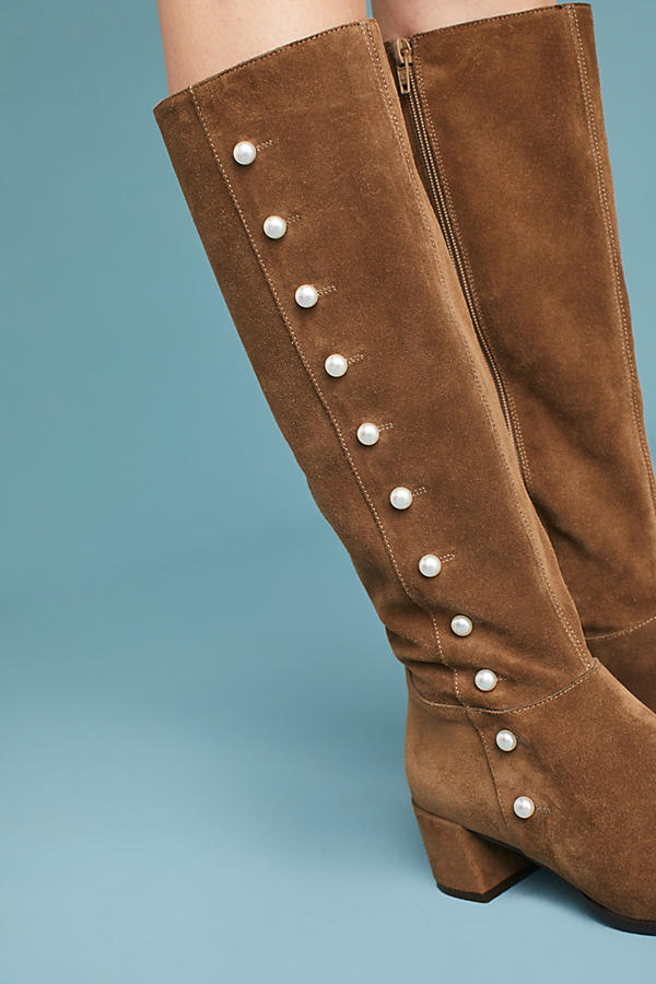 Slide View: 4: Elysess Knee-High Riding Boots