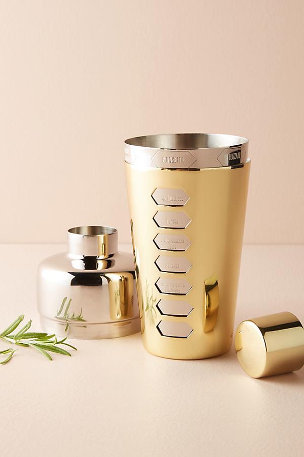 Oana Cocktail Shaker - Gold, Size Cktl Shkr