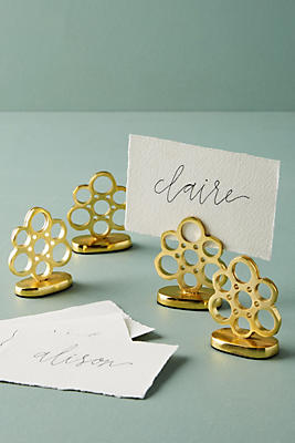 Slide View: 1: Kinsey Placecard Holder Set