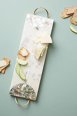 Slide View: 1: Nina Marble Cheese Board