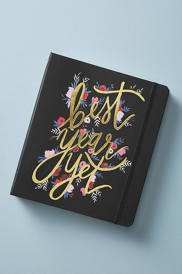 Slide View: 1: Best Year Yet 2018 Planner