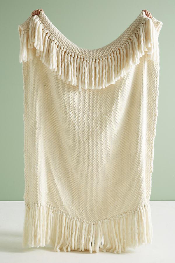Iceland Throw Blanket - Ivory