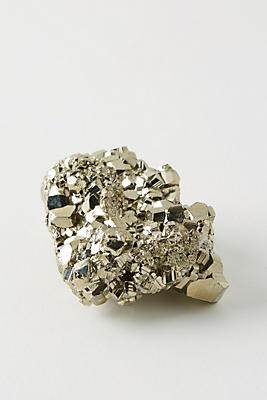 Slide View: 1: Golden Pyrite Decorative Object