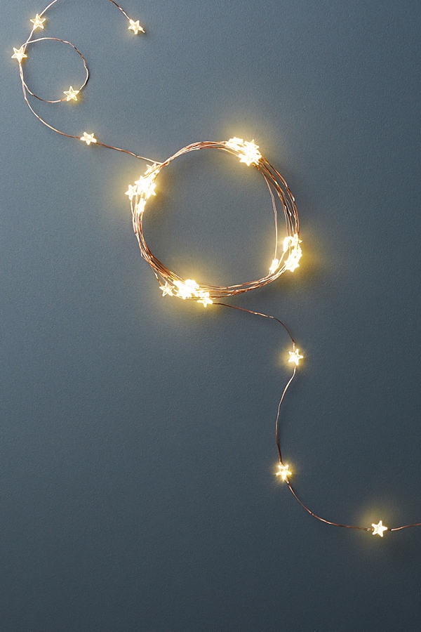Aurora String Lights - Copper