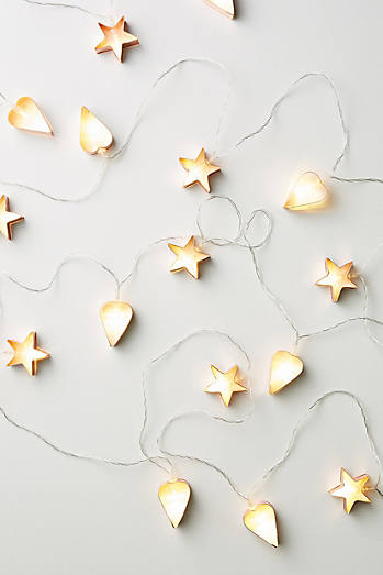 Cookie Cutter String Lights