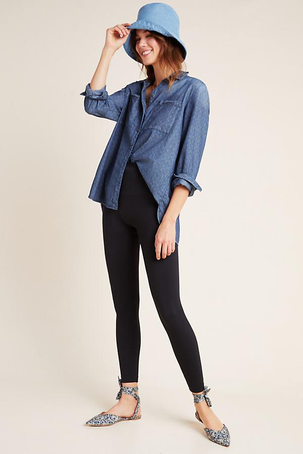 Spanx Seamless Leggings - Black, Size Xs