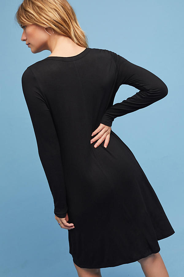 Slide View: 5: Twist-Hem Dress