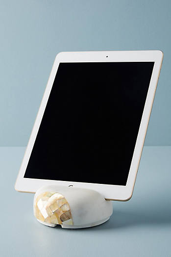Slide View: 1: Shell-Carved iPad Stand