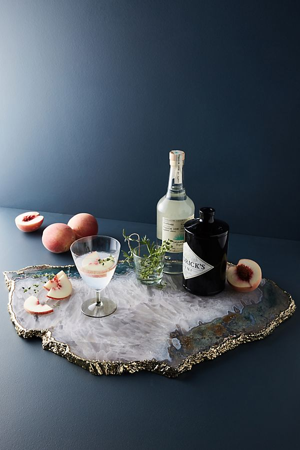 Agate Quartz Serving Board | Anthropologie