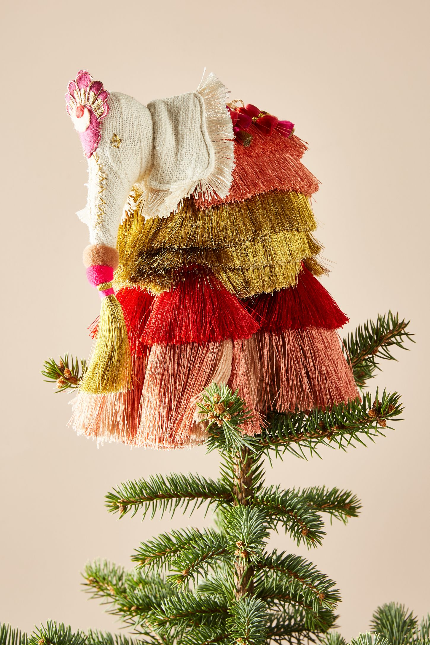 Majestic Tassels Tree Topper