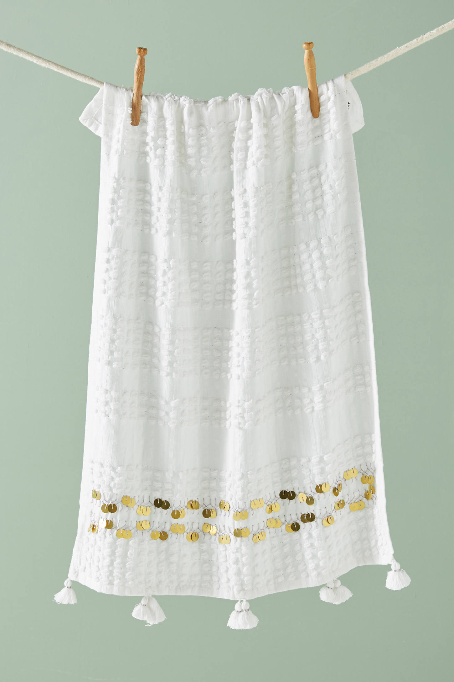 Golden Garland Dish Towel