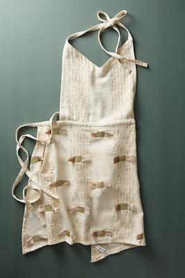 Slide View: 1: Mollie Embroidered Apron