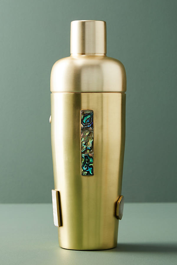 Inez Cocktail Shaker - Gold, Size Cktl Shkr