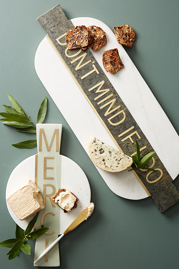 Slide View: 2: Festive Marble Cheese Board