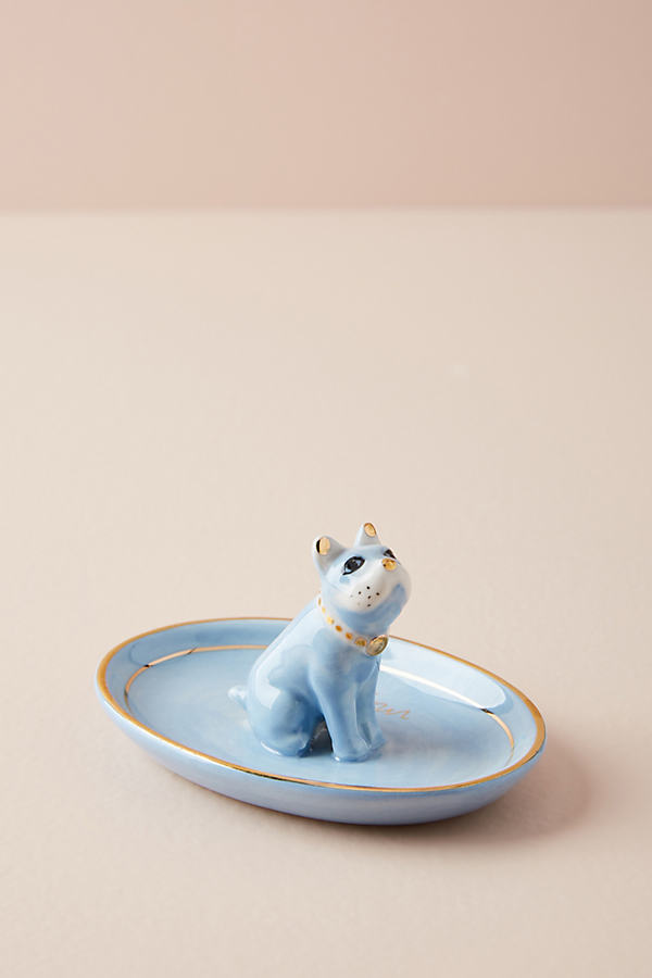 Dog Trinket Dish - Blue