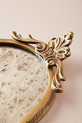 Antiqued Vanity Tray | Anthropologie