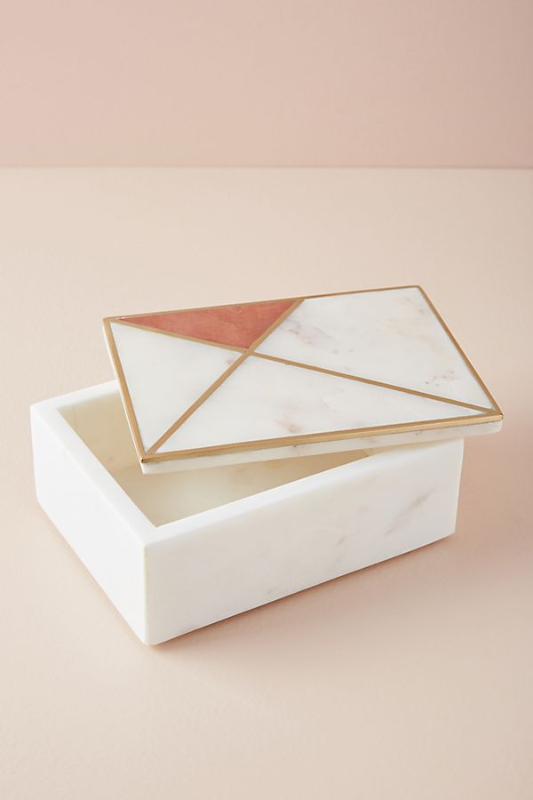 Marble Inlay Jewelry Box | Anthropologie