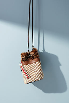 Slide View: 1: Bosphore Zig Zag Bucket Bag