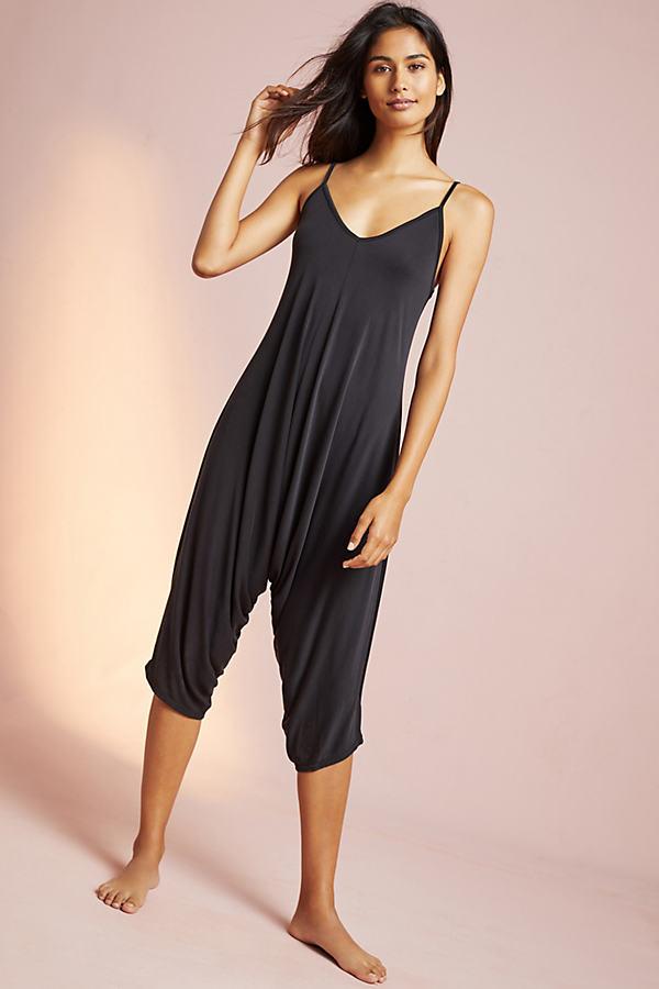 Gayle Lounging Jumpsuit, Black - Black, Size S