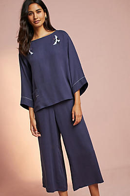 Slide View: 5: Emere Embroidered Sleep Top