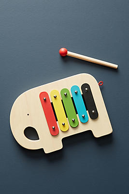 Slide View: 1: Elephant Xylophone Toy