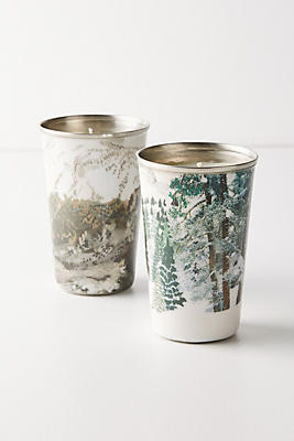 Slide View: 2: Holiday Tumbler Candle