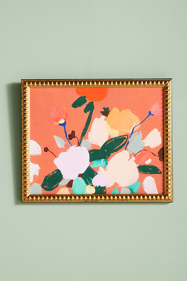 Candy Flowers Wall Art - Pink