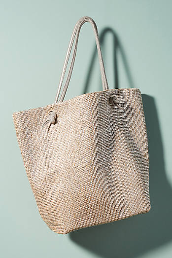 Martine Metallic Tote Bag